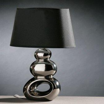 yatak odaları için siyah modern masa lambaları
