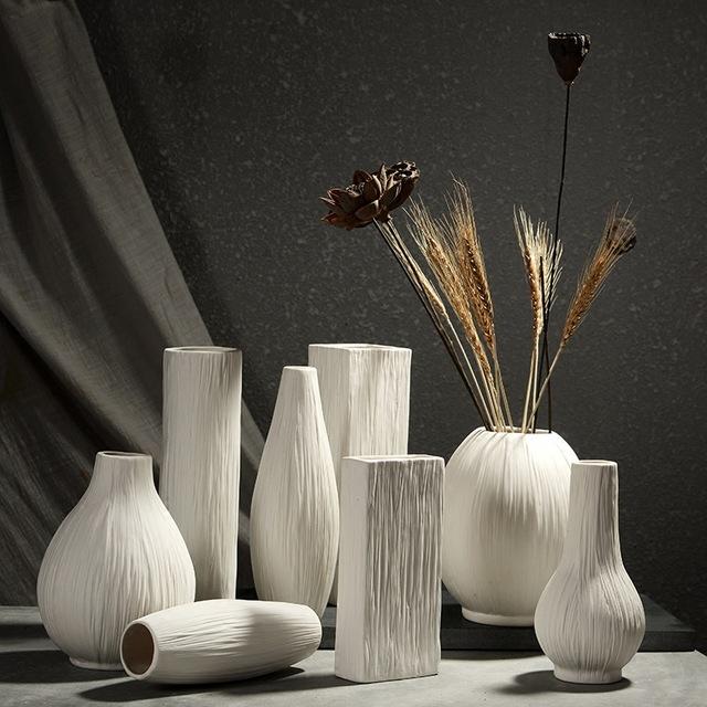 şık dekoratif vazolar