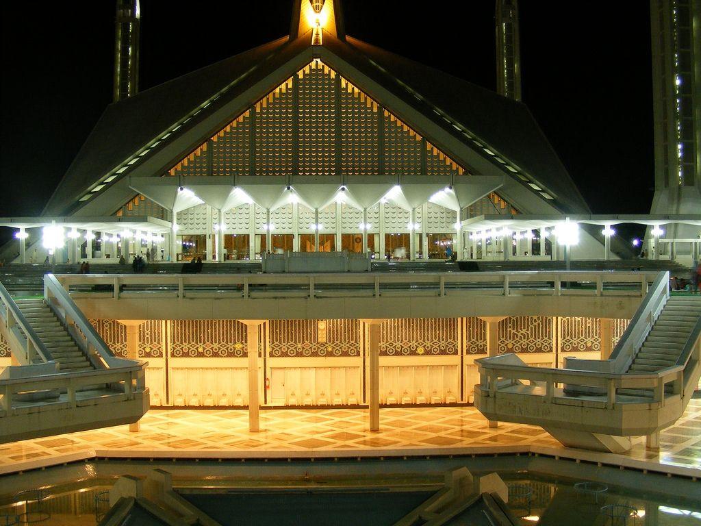Kral Faysal Camii, İslamabad,