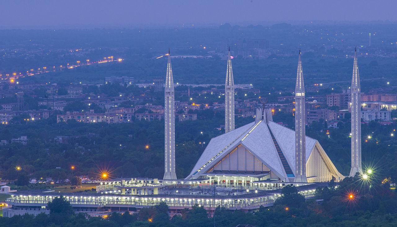 islamabad faysal camii