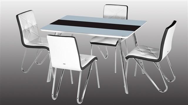 istikbal şık ve modern spor mutfak masa sandalyeleri
