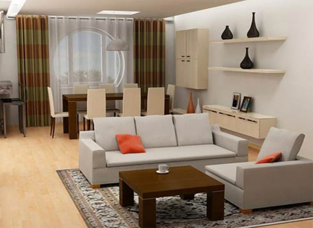 küçük salon dekorasyon modelleri