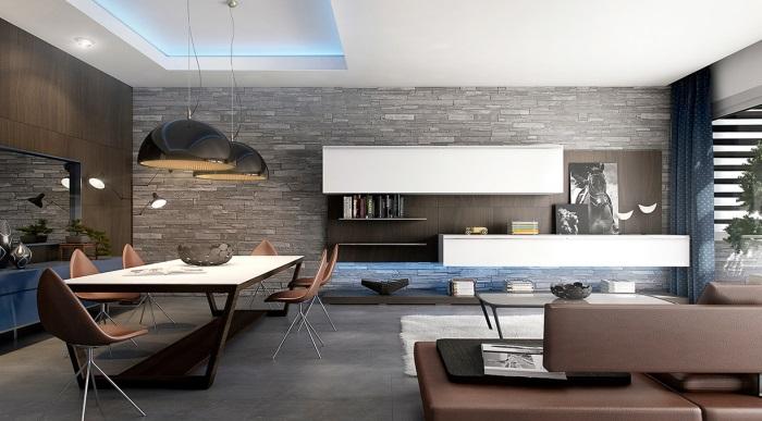 modern salon tasarımları